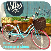 Bicicleta Slim Princess Of China Hardstd Rin Rin Biclas
