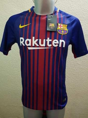 fe13089ab8bd9 Jersey Barcelona Azulgrana Local Nike 2018 Playera Messi