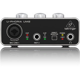 Um2 Interfaz Para Audio Digital Behringer U-phoria