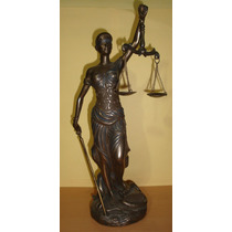 Justicia - Escultura - Abogados - De Coleccion