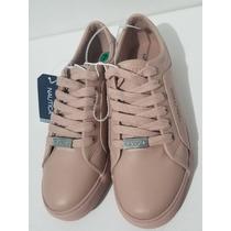 3e0201197d3 Tenis Náutica Color Rosa Nude Estilo Kw1722   4.5 Mex en venta en ...