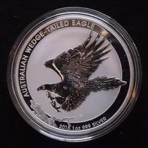 Moneda Plata 1 Oz !! Aguila Audaz Australiana 2015 !!