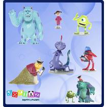 Monster Inc Disney Pixar, Set Sulley Mike Boo Randall Y Mas