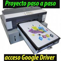 Impresora De Playeras Diy Dtg Proyector Paso A Paso