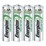 Pila Recargable Aa Energizer Original De 2,300 Mah 4 Piezas
