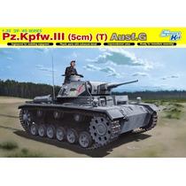 Tanque Cyber - Hobby Pz.kpfw.lll (5cm) (t) Ausf. G Esc. 1/35