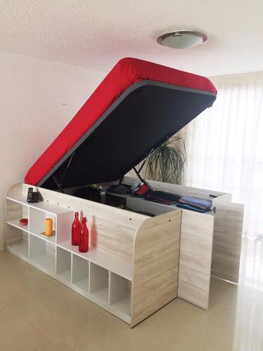 Cama Closet Matrimonial Ismar Mobiliario En Venta En