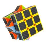 Cubo Rubik 3x3 Fibra Carbono Velocidad Calidad - Precio