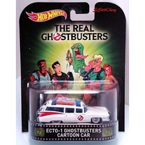 Hot Wheels Retro Entertaiment Ghostbuster Ecto 1 Caricaturas
