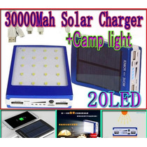 Cargador Solar Iphone Samsung Etc Bateria Power Bank 30000ma