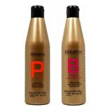 Salerm ® Pack Linea Oro Shampoo Condicionador 1000ml + Bálsamo Proteína 1000ml Queratina Ph Neutro Envio Gratis