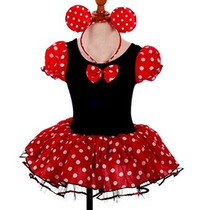 Minnie Mouse De Halloween Vestido De Lujo De Vestir De La Ma