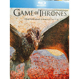 Game Of Thrones Juego De Tronos  1-6 En  Bluray Boxset