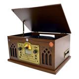Tornamesa Nostalgico Select Sound Bt9245 Lp Mp3 Cd Cassette