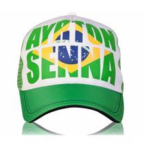 Gorra Ayrton Senna Brasil, Original F1 Formula 1