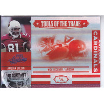 2007 Absolute Tott Red Spect Anquan Boldin Wr Cards 12/25