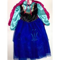 Disfraz Vestido Anna Frozen Princesa Ana Elsa Disney