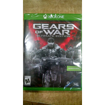 Gears Of Wars Ultimate Edicion Xbox One Disco Fisico Sellado