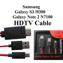 Cable Hdmi Mhl Galaxy Note 3 S4 S3 Micro Usb Adaptador Sb0
