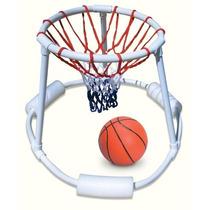 Aro Basquetbol Flotante Baloncesto Inflable Piscina Alberca