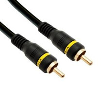 Cablewholesale 25-feet Composite Video Cable Rca Macho / Mac