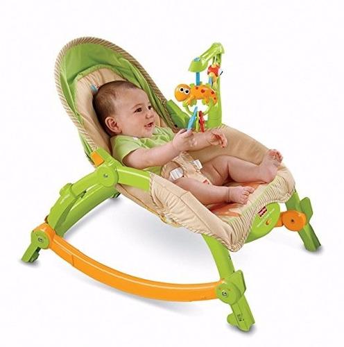 Silla mecedora para bebe infantil fisher price 1399 dxoqs for Silla mecedora para bebe
