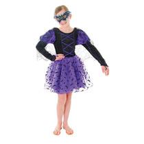 Traje Bat - Gran Niñas Princesa Disfraces De Halloween