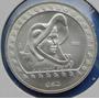 Moneda Mexico Caballero Aguila $50 Pesos 1992 Plata