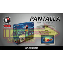 Pantalla Para Techo Hf-mt12 Reproductor De Dvd