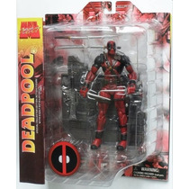 Figura Deadpool Marvel Select 20cm Articulado C/accesorios