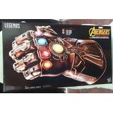 Guante Interactivo Thanos Sonidos Luz 50 Cms Avengers