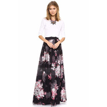 Suku 40452 Falda Extra Larga Plisada Moda Asia $1219
