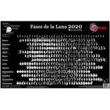 Poster Calendario Lunar 2020