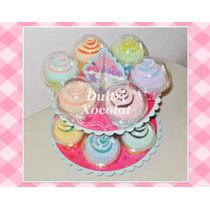 Recuerdo Cupcake De Toallita Facial O Mini Bombones