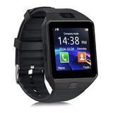 Reloj Celular Smartwatch Dz09 Idioma Español Y Mica Pantalla