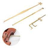 Kit De Herramientas Para Violín Luthier, Medidor De Sonido