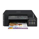 Impresora A Color Multifunción Brother Dcp-t5 Series Dcp-t510w Con Wifi 110v Negra