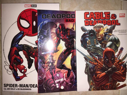 Marvel Comics Deadpool Set De 3 Pzs