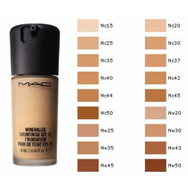 Base De Maquillaje Studio Fix Mac Spf 15 Con Brocha Regalo