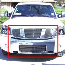 Combo Parrillas Billet Cromadas Nissan Armada 04 05 06 07