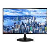 Monitor Samsung C24f390fhl Led 23.5  Negro 110v/220v