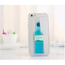 Iphone 6 / 6 Plus Blue Cocktail Coctel Azul, Funda Carcasa