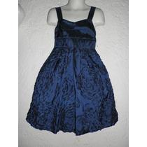 Dress Vestido Satinado 6 - 7 Años Fiesta Envio Gratis