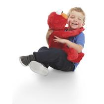Elmo Plaza Sesamo Playskool Canta Baila Abrazos Big Hugs Op4