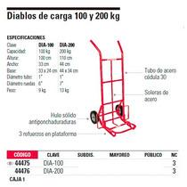 Diablo De Carga 100kg Fiero