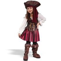 Disfraz De Pirata Para Niñas, Envio Gratis