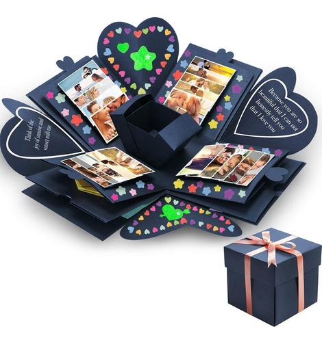 Caja Explosiva Para Personalizar Regalo Valentin