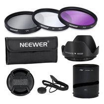 Neewer® Profesional 72mm Kit Filtros Fujifilm Sl1000