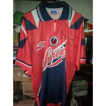 Jersey Playera Tiburones Rojos Del Veracruz 1996 Utileria