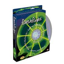 Disco Volador Con Luz L.e.d. Verde *